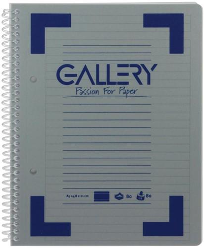 Gallery spiraalschrift A5 gelijnd