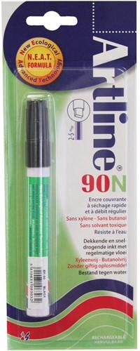 Artline 90 permenent marker zwart
