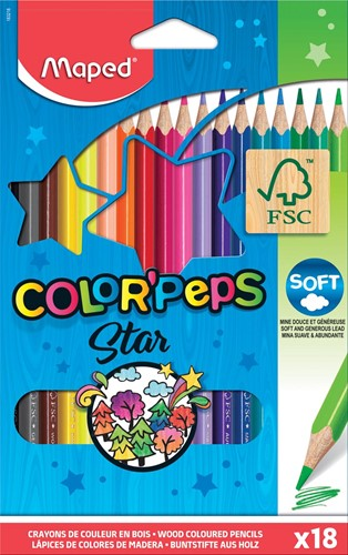 Maped kleurpotloden set Color'Peps