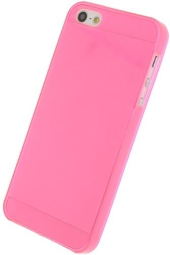 Mobilize Gelly Case Apple iPhone 5/5S/SE Transparent Pink