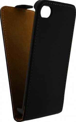 Mobilize fliphoes Apple iPhone 4/4S zwart