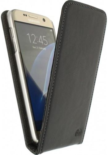 Mobilize fliphoes Samsung Galaxy S7 zwart