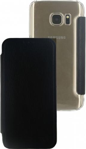 Mobilize Slim Booklet Samsung Galaxy S7 Solid Black