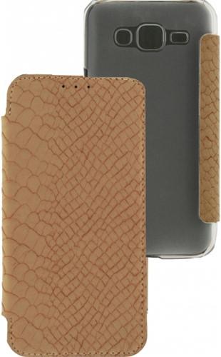 Mobilize Slim Booklet Samsung Galaxy J5 Soft Snake Creamy Rose