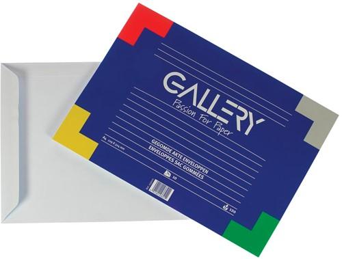 Gallery enveloppen gomsluiting 10 stuks 229 x 324mm