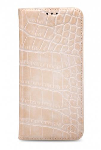 Mobilize Premium Gelly Book Case Apple iPhone X/Xs Alligator Coral Pink