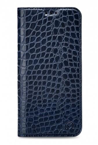 Mobilize Premium Gelly Book Case Apple iPhone X/Xs Alligator Indigo Blue