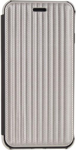Mobilize Elegant Book Case Apple iPhone X/Xs Silver