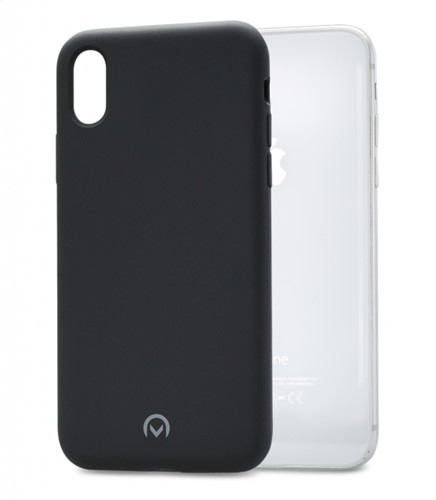 Mobilize Solid Silicone Case Apple iPhone X Black