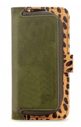 Mobilize 2in1 Gelly Zipper Case Samsung Galaxy S9 Olive/Leopard