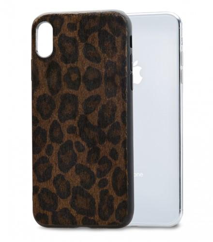 Mobilize Gelly Case Apple iPhone X/Xs Dark Brown Leopard