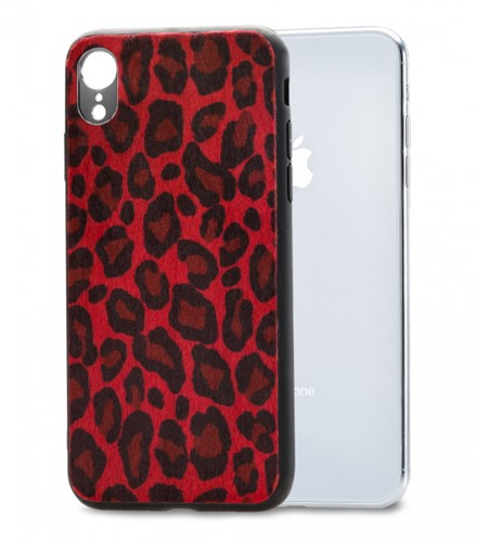 Mobilize Gelly Case Apple iPhone XR Red Leopard
