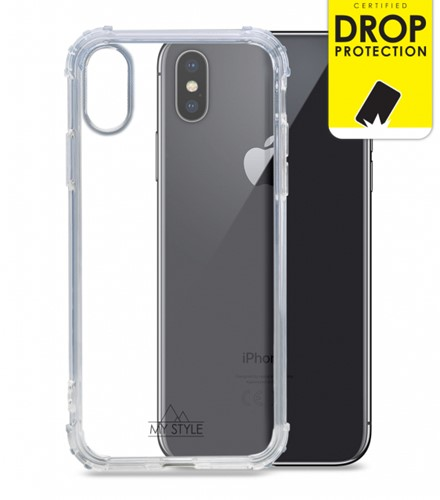 My Style Protective Flex Case for Apple iPhone X/Xs Clear