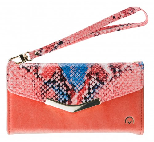 Mobilize 2in1 Gelly Velvet Clutch for Samsung Galaxy A20e Coral Snake