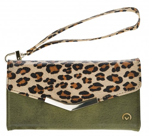 Mobilize 2in1 Gelly Clutch for Apple iPhone 12/12 Pro Green Leopard
