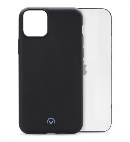 Mobilize Rubber Gelly Case Apple iPhone 12 Pro Max Matt Black