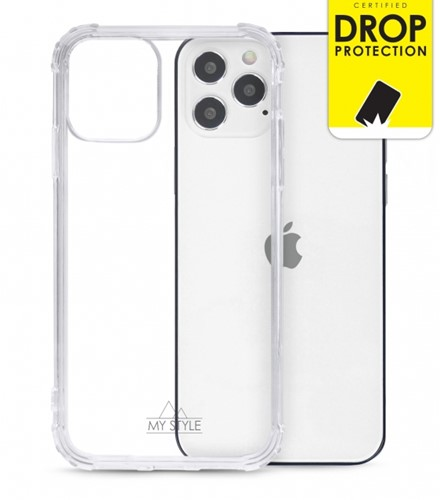 My Style Protective Flex Case for Apple iPhone 12/12 Pro Clear