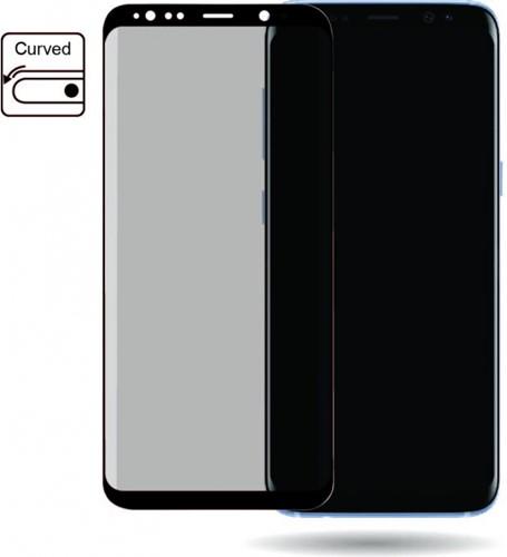 Mobilize Edge-To-Edge Glass Screen Protector Samsung Galaxy S8 Black Edge Glue