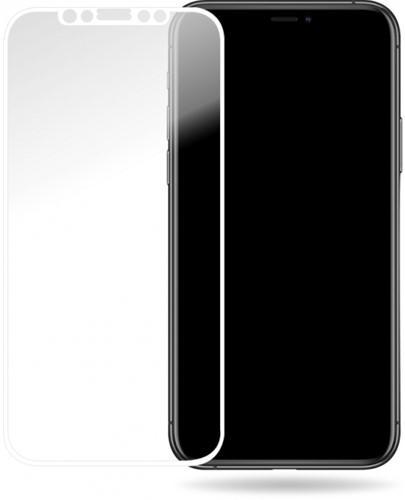Mobilize Glass Screen Protector - White Frame - Apple iPhone X/Xs/11 Pro