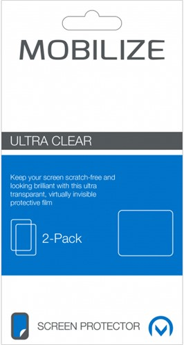 Mobilize Clear 2-pack Screen Protector Apple iPhone X/Xs Front and Back Pack