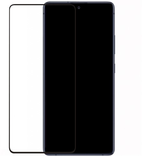 Mobilize Edge-To-Edge Glass Screen Protector Samsung Galaxy S10 Lite Black