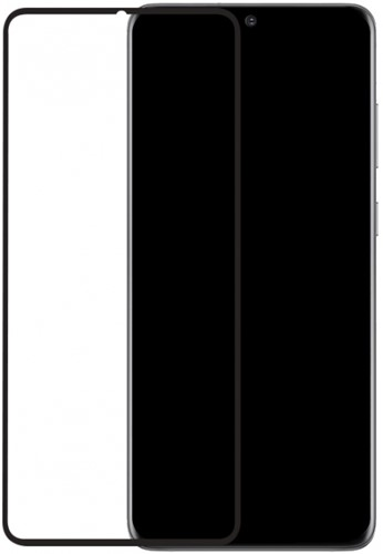 Mobilize Edge-To-Edge Glass Screen Protector Samsung Galaxy S20+/S20+ 5G Black