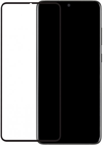 Mobilize Edge-To-Edge Glass Screen Protector Samsung Galaxy S20 Ultra/S20 Ultra 5G Black