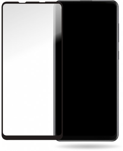 Mobilize Glass Screen Protector - Black Frame - Samsung Galaxy A21s
