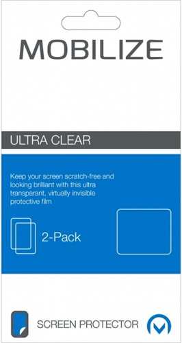 Mobilize Clear 2-pack Screen Protector Samsung Galaxy A20s