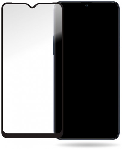 Mobilize Glass Screen Protector - Black Frame - Samsung Galaxy A20s