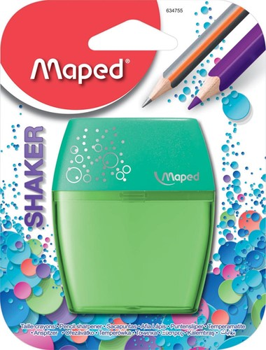 Maped potloodslijper Shaker 2-gaats