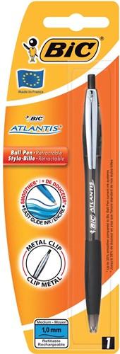 Bic balpen Atlantis soft zwart