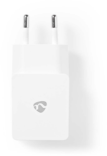 Wandoplader   2,1 A   1 uitgang   USB-A   Wit